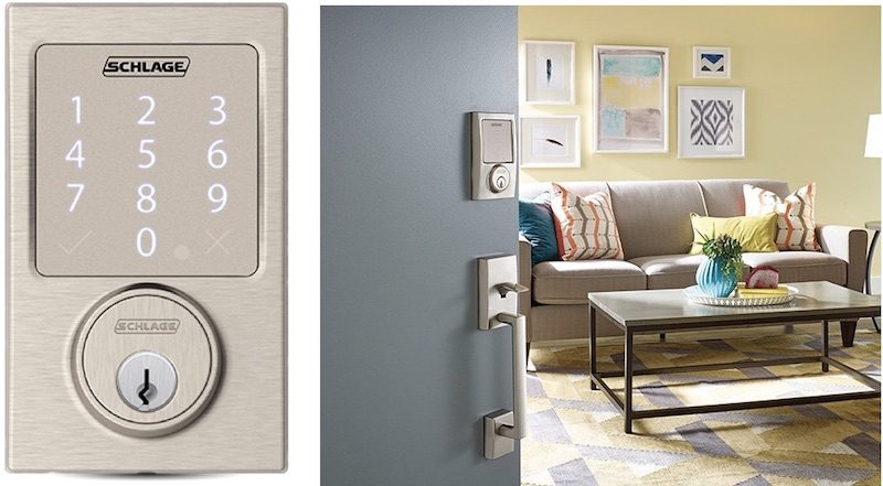 Schlage Sense Smart Deadbolt Gets Home Compatibility