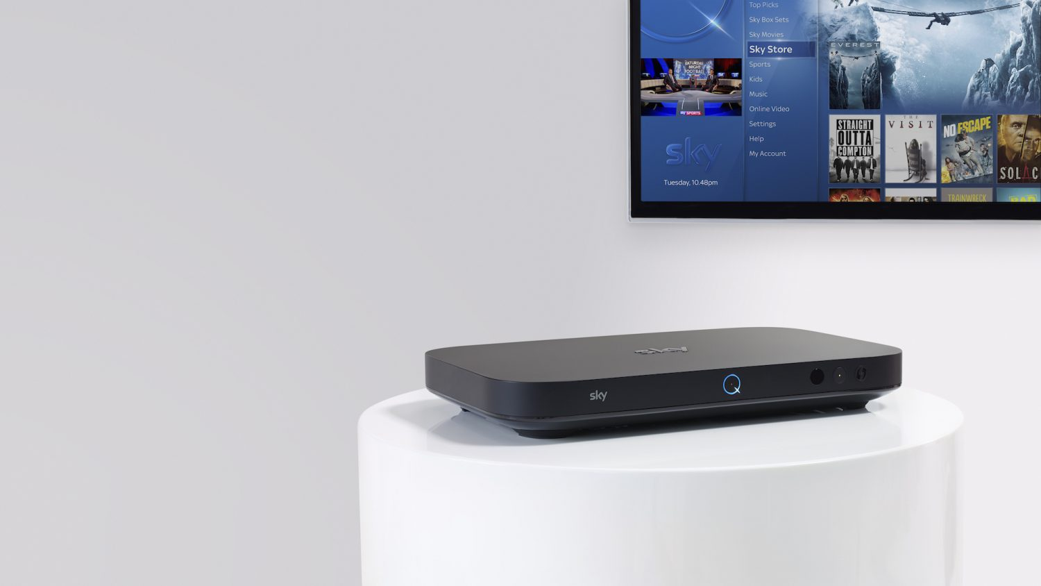Broader European Rollout for Sky Q