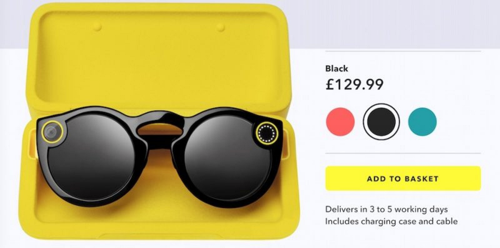 Snapchat Spectacles Reach Europe
