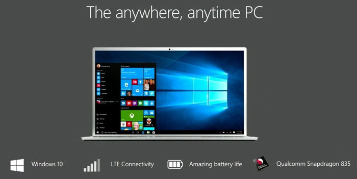 Qualcomm Readies Windows 10 PCs