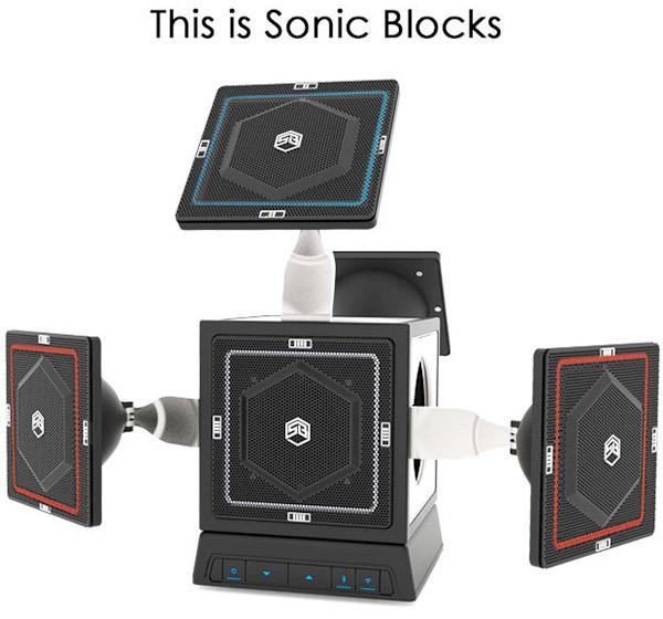 The Sonic Blocks Modular Speaker