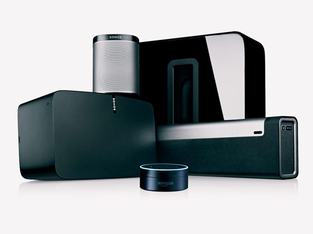 Sonos Gets Spotify, Amazon Echo Integration