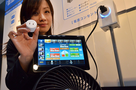 Sony Develops Smart Electric Sockets