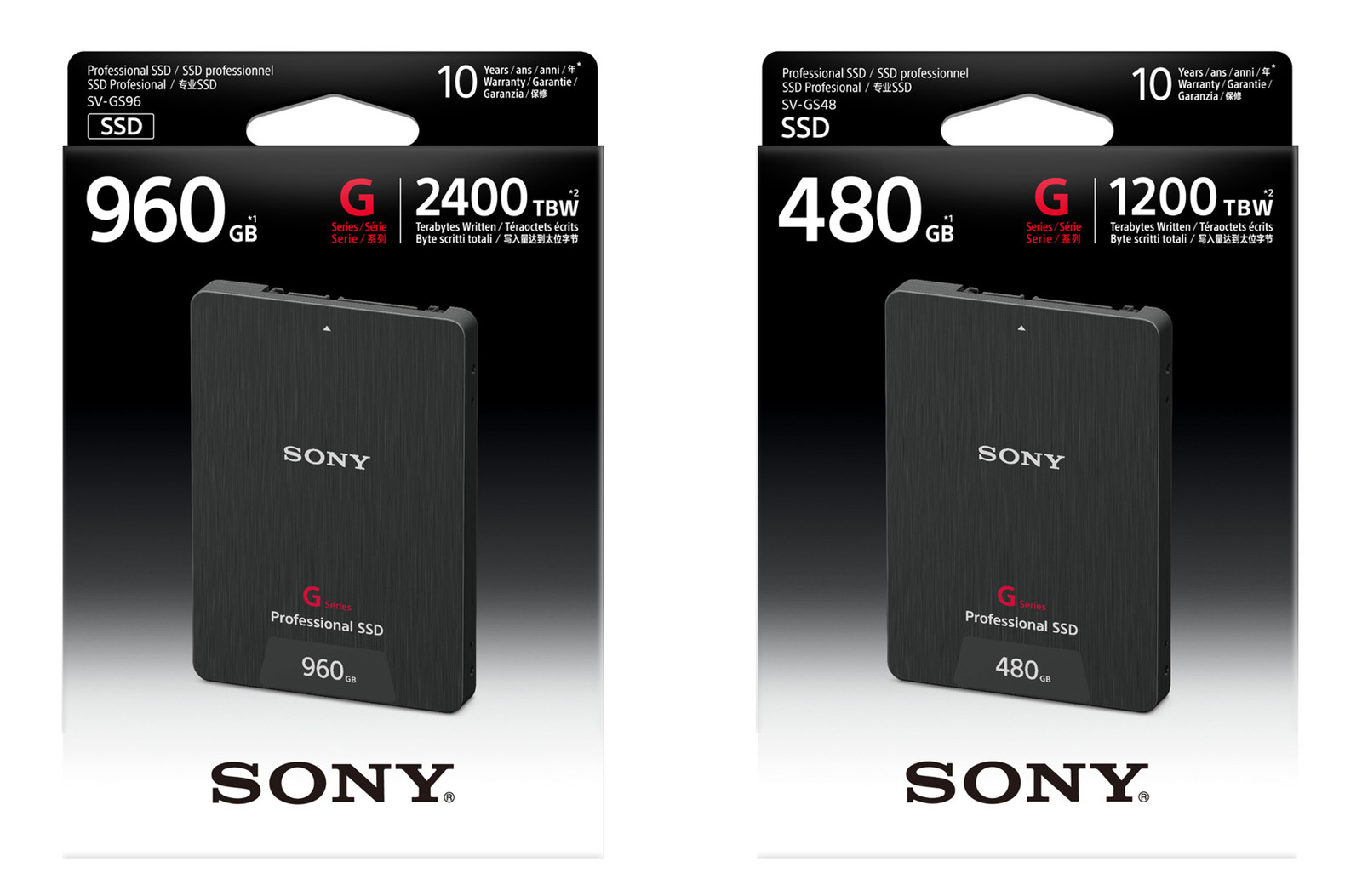 Sony Aims Tough SSDs at 4K Video
