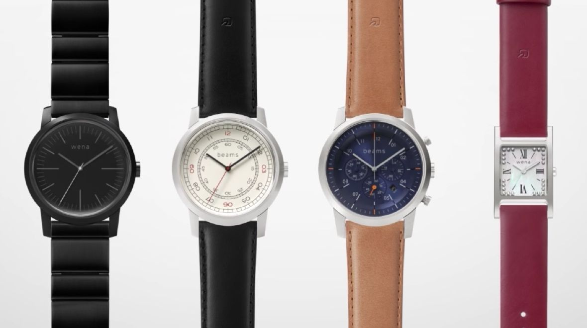 Sony Wena Hybrid Smartwatch Gets Sequel