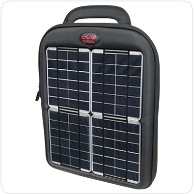 Solar Power From a Tablet Case