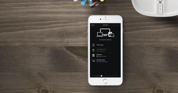 Sonos Speakers Get Spotify Control