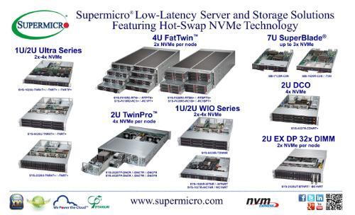 Supermicro NVMe