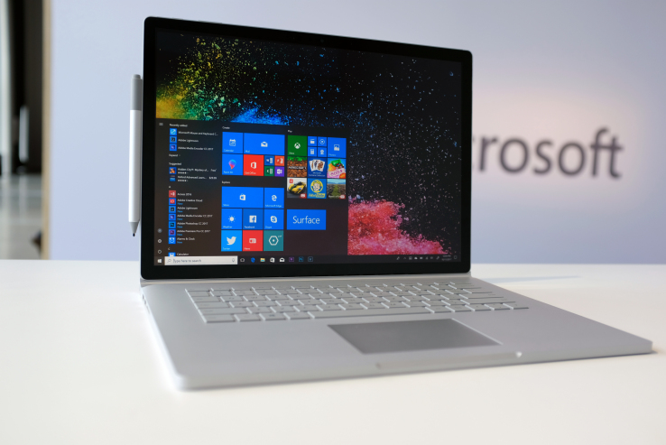 Microsoft Intros Surface Book 2