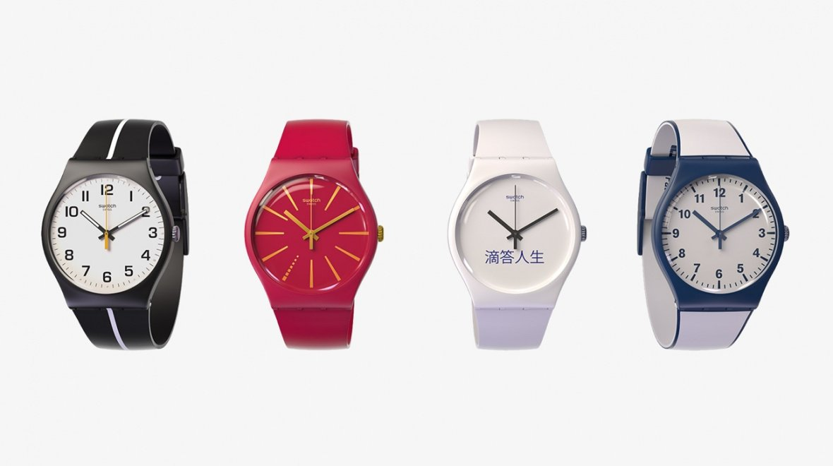 Swatch Partners With Visa in Wearable NFC Payments