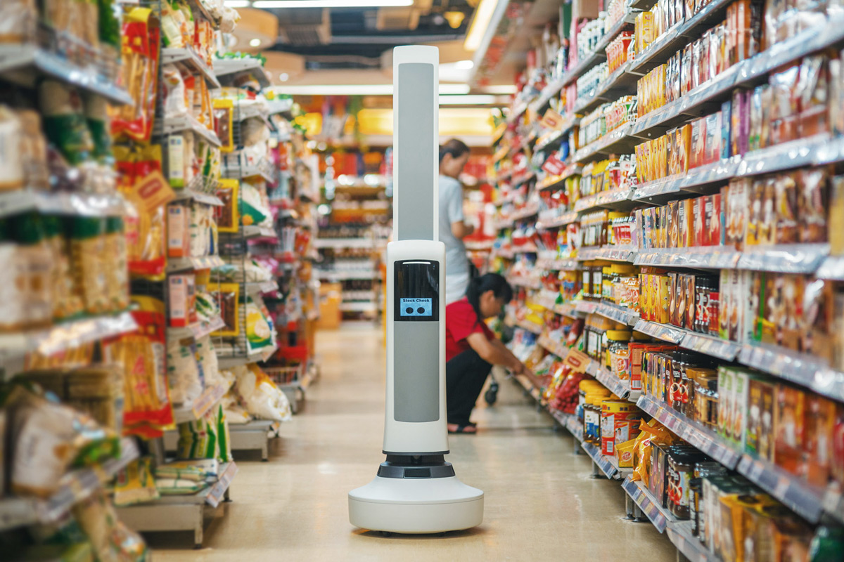 A Tally Robot to Keep Stock of Retail Shelves