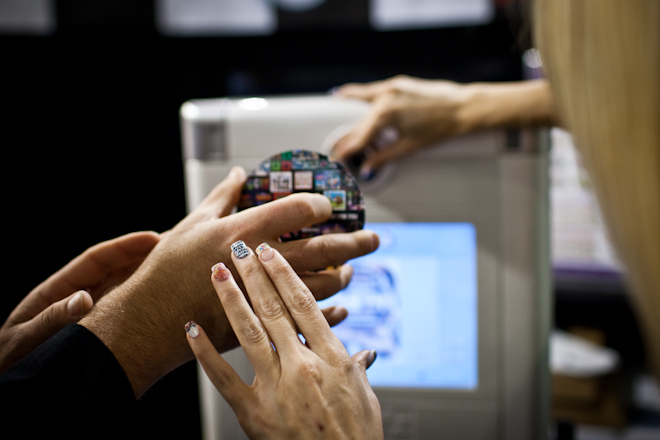 Print on Nails at CES 2013