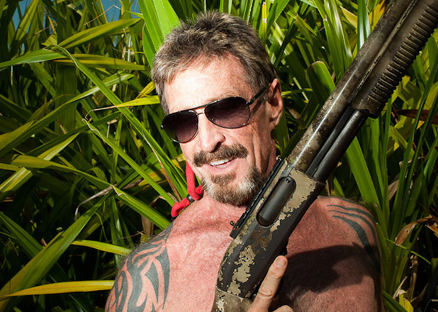 Wanted: McAfee Founder