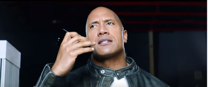 Can You Smell What the Rock is Selling?