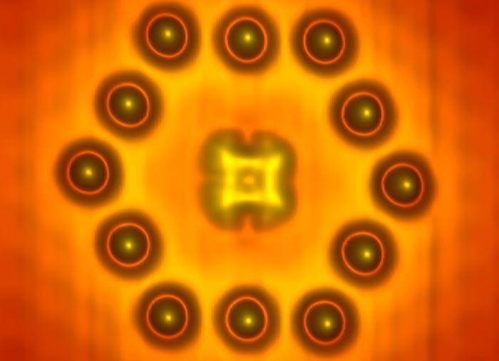 Tiniest transistor