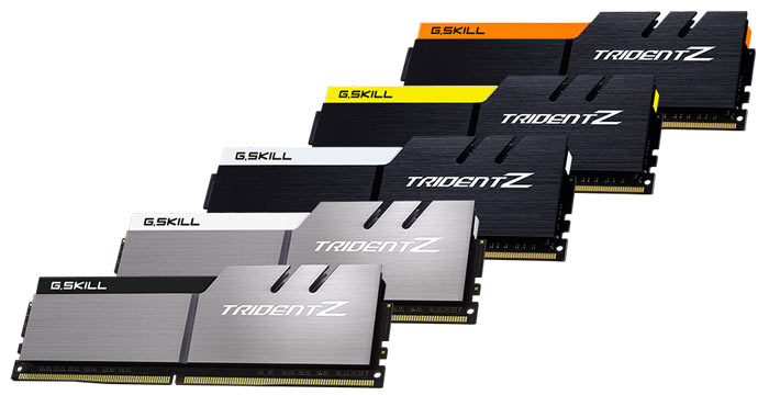 G.Skill DDR4 RAM Gets Colour Options