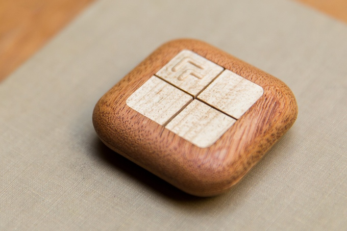 The Wooden Turn Touch Remote