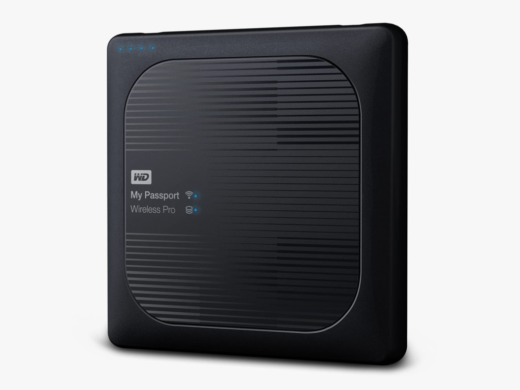 WD Intros My Passport Wireless Pro
