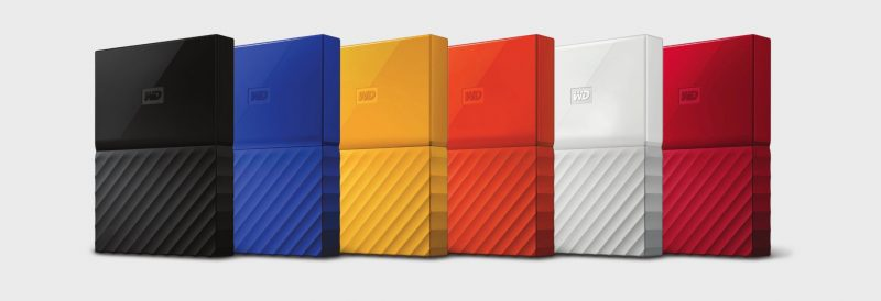 WD Redesigns My Passport, My Book HDDs