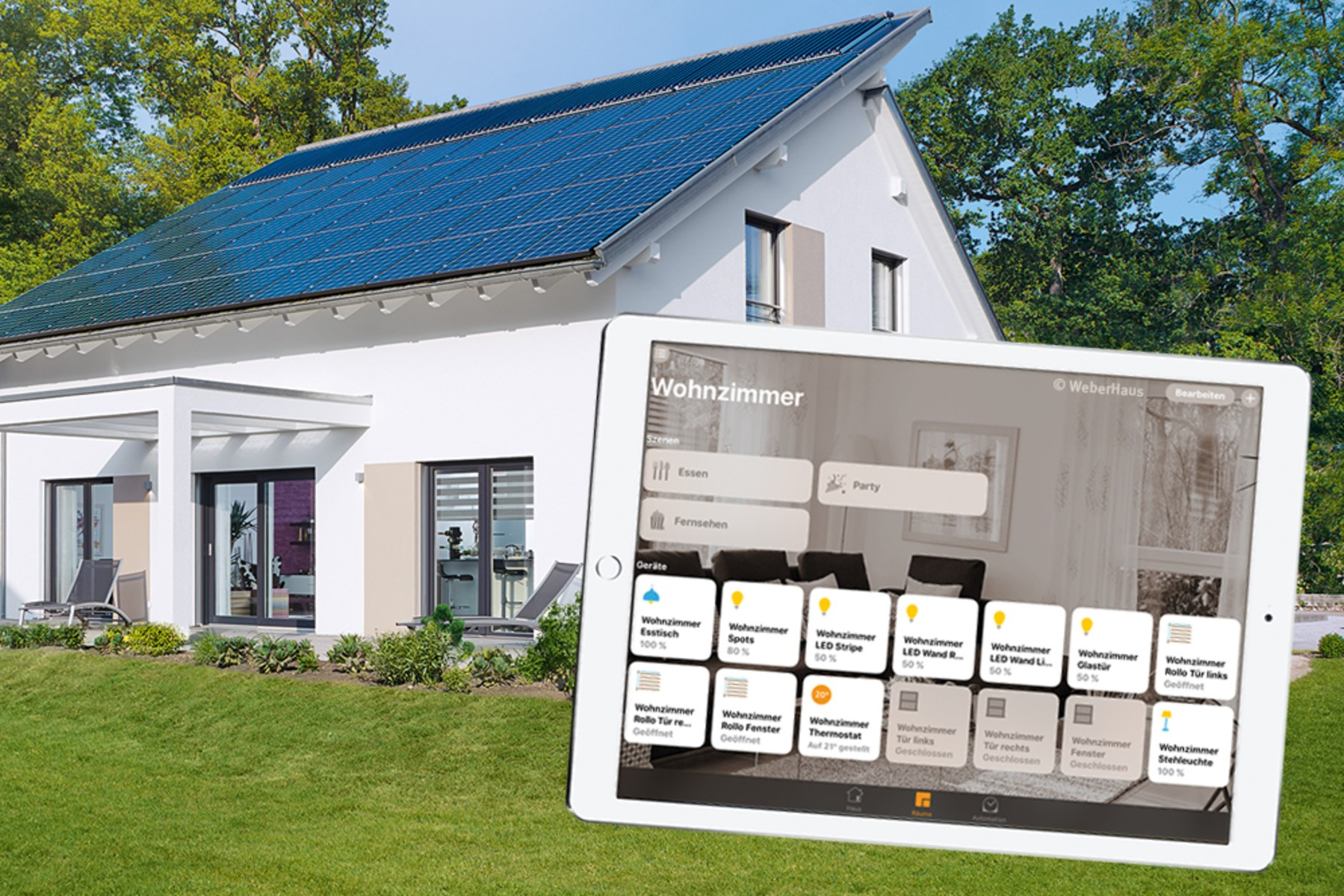 WeberHaus Builds Houses With HomeKit