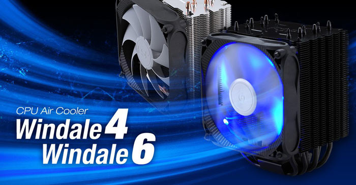 FSP Intros Windale 4, 6 Coolers