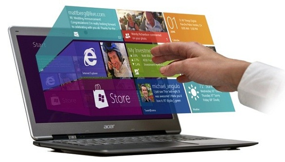Touch-Enabled Windows 8, Without the Touching