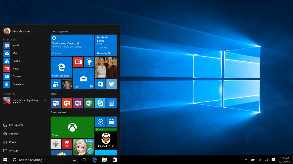 Windows 10 Reaches Launch