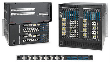 Extron Ships XTP II CrossPoint Matrix Switchers with 50 Gbps Backplane and XTP 3G-SDI Input Board