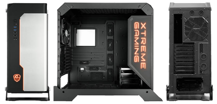 Gigabyte Intros Xtreme Gaming XC700W Tower Case