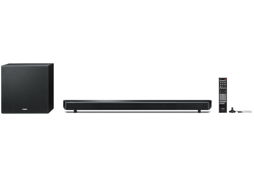 Yamaha adds soundbar speaker to musiccast for Yamaha soundbar with subwoofer