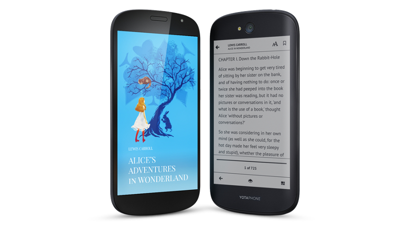 Dual-Screen Yotaphone Gets Upgrade