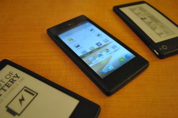 The Smartphone With Integrated eReader